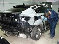 Ремонт кузова в покрасочной камере Донецк
