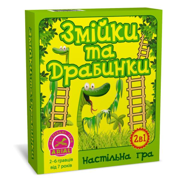 Игра Arial Змейки и лесницы (Укр) (4820059910398)