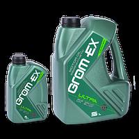 Масло   GROM-EX 10W40 Ultra 5л SL/CF (полусинтетика) (Grom-ex)