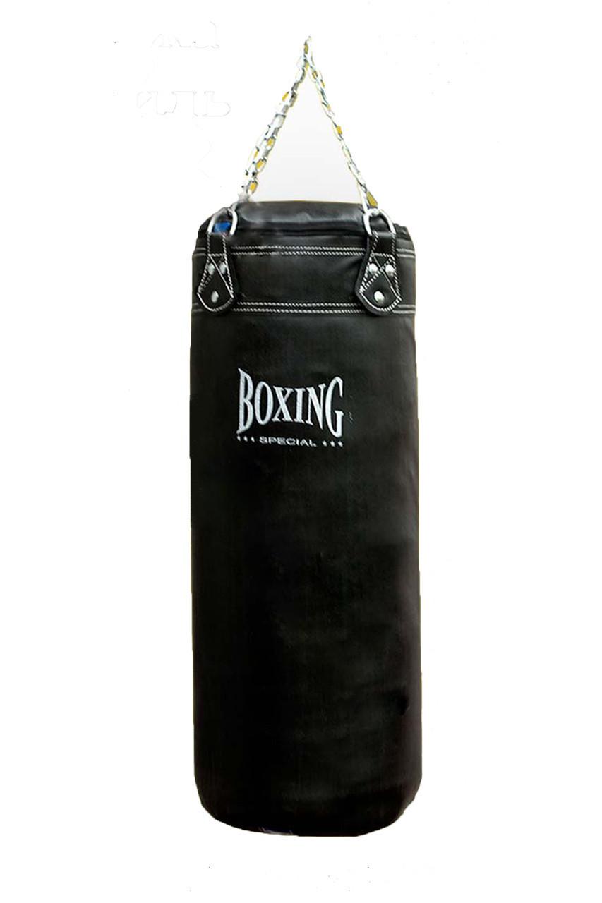 Мешок боксерский Boxing Special 80 х 30 см, Кожа