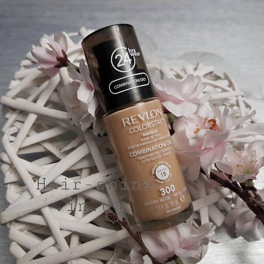 Тональный крем для комбинированой и жирной кожи Revlon Colorstay Makeup Combination Oily Skin 300 Medium Shad