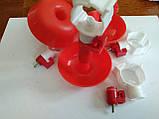 Ниппельная поилка чашечная поилка для кур голубей, фото 4