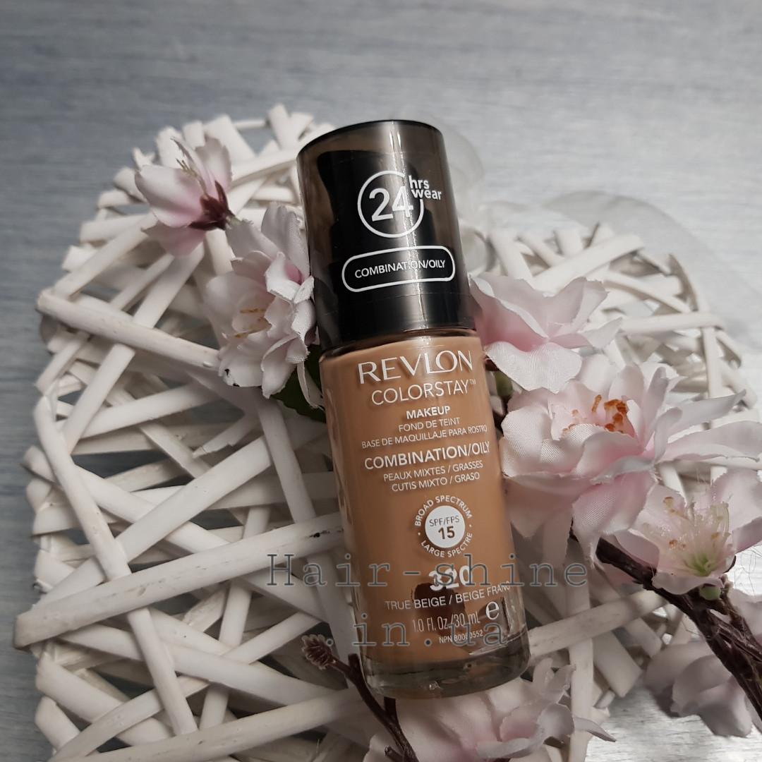 Тональный крем для комбинированой и жирной кожи Revlon Colorstay Makeup Combination Oily Skin 320 True Beige