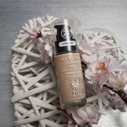 Тональный крем для нормальной и сухой кожи лица Revlon Colorstay Makeup 110 Ivory