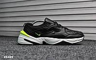 Nike Tekno Black White Green (Реплика)