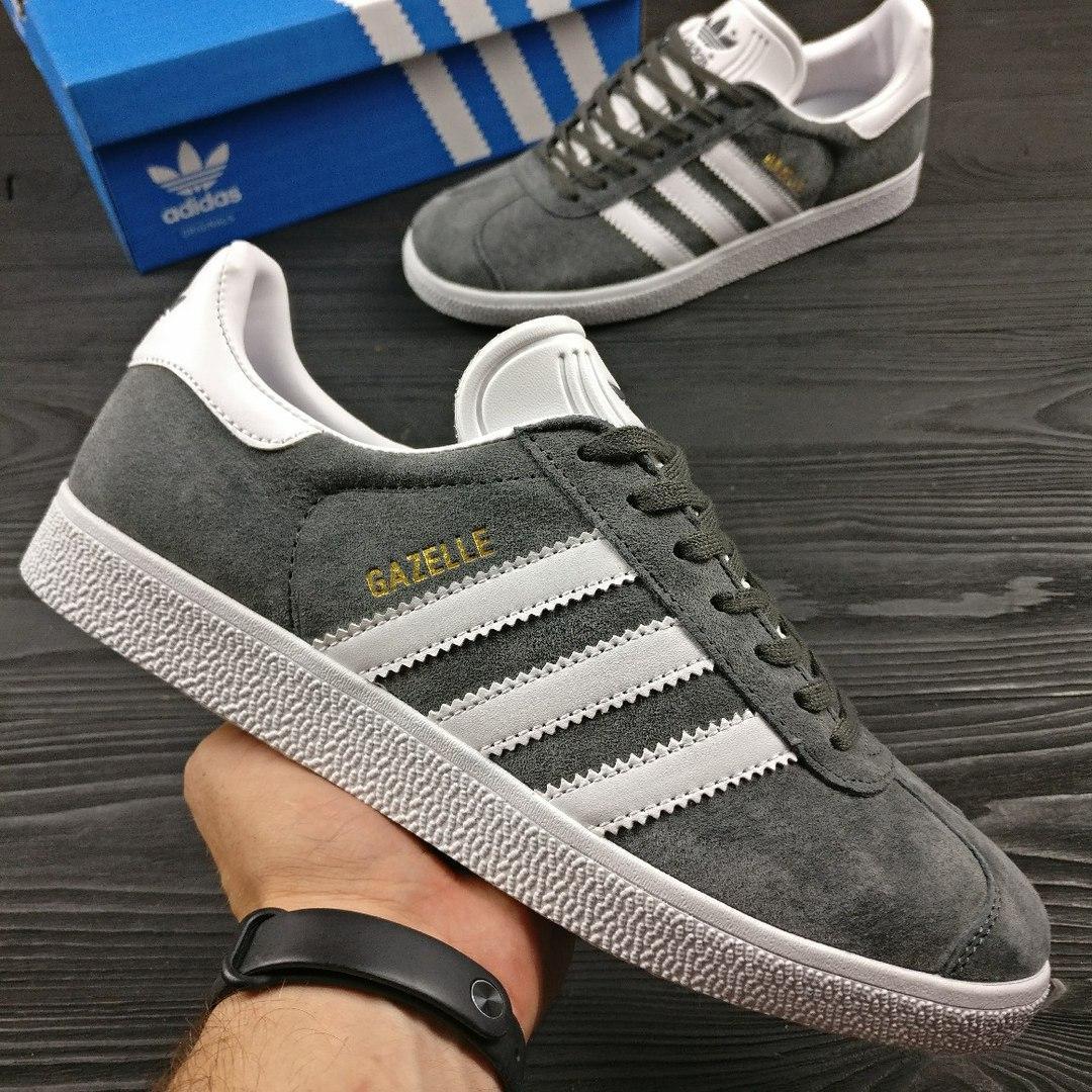Кроссовки мужские Adidas Gazelle, адидас газель
