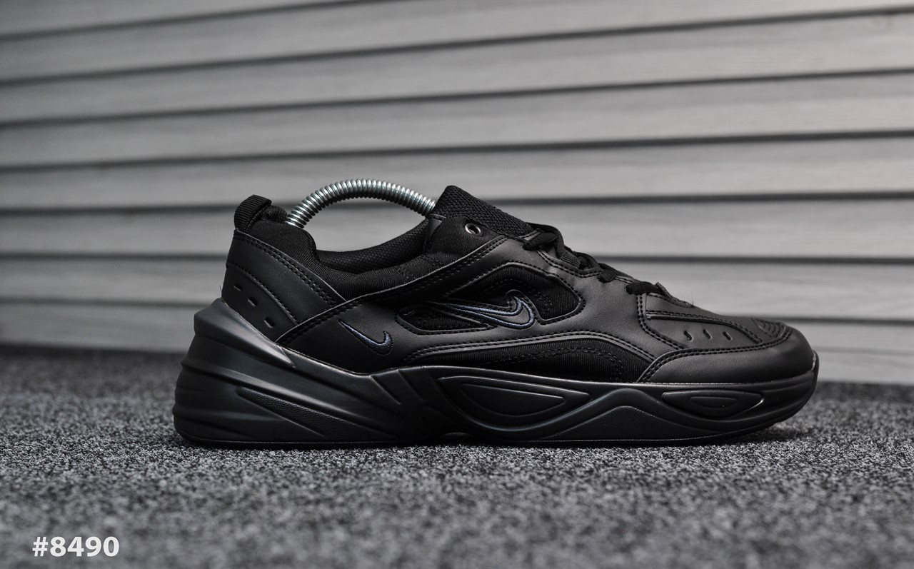 Nike Tekno Triple Black (Реплика)