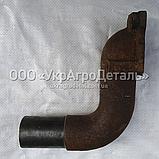 Патрубок выпускной Д-65 ЮМЗ (колено) Д65-05-С13, фото 3