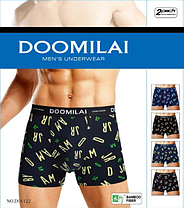 Мужские боксеры стрейчевые из бамбука  Марка  «DOOMILAI» Арт.D-01122, фото 2