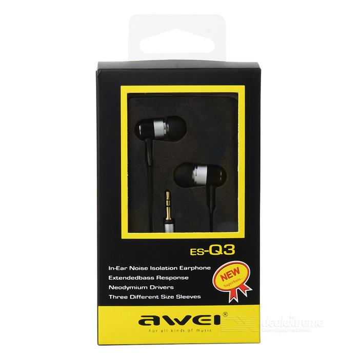 Наушники Awei Q3 (вакуумные)