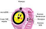 Детские смарт часы Smart baby watch Q610S GPS  с камерой и фонариком, фото 3