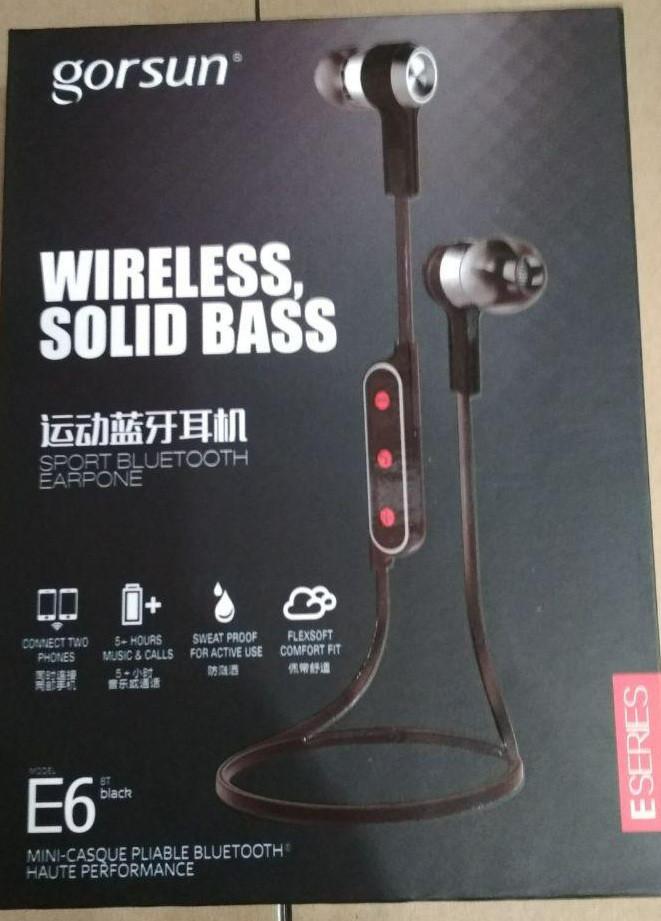 Bluetooth Наушники Gorsun GS E6