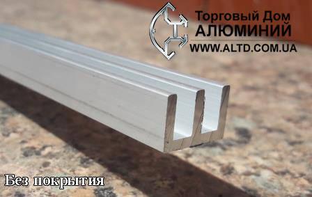 Ш-образный радиаторный профиль 19х10 без покрытия