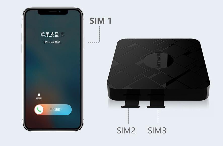 Адаптер для двух дополнительных карт Monwalk K11 black
