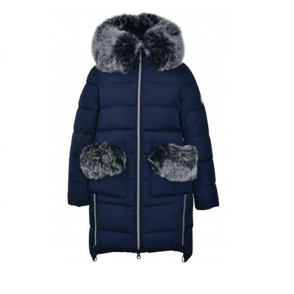 Дитяче зимове пальто для дівчинки від Donilo 4915, розміри 134-158