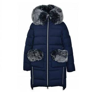 Дитяче зимове пальто для дівчинки від Donilo 4915, розміри 134-158, фото 2