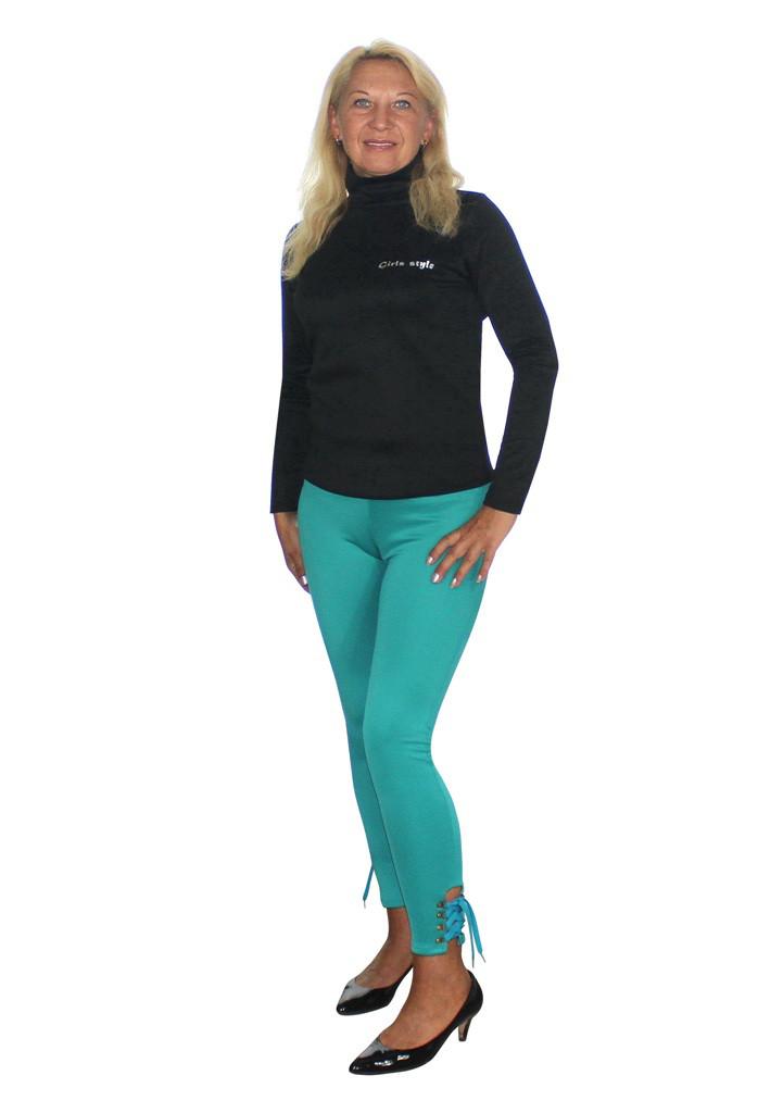 Цветные брюки стрейч