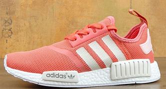 Кроссовки женские Adidas NMD Raw Pink, адидас НМД, реплика