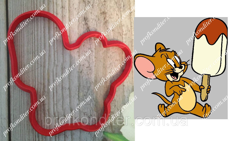 Пластиковая вырубка Джерри (мульт Том и Джерри), 10см