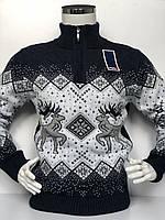 Подростковый свитер с оленями в Украине. Сравнить цены 5e2c8fa336c1b