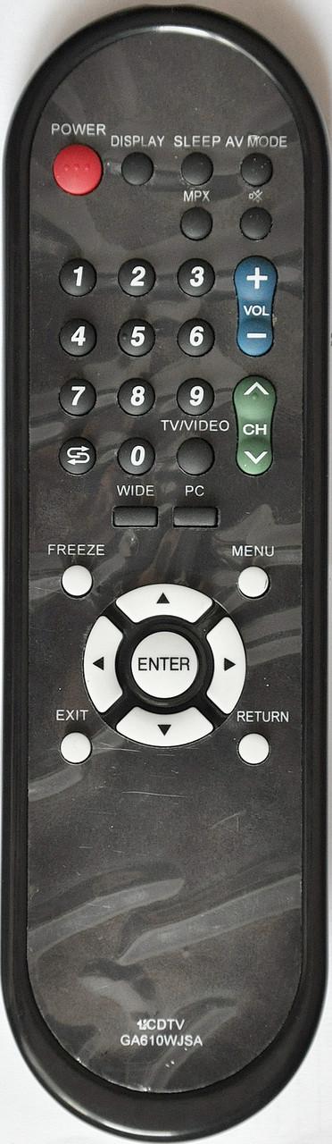 Пульт на телевизор SHARP. Модель GA610WJSA