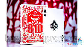 Copag 310 red deck