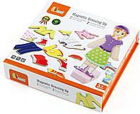 Набор магнитов Гардероб девочки Viga toys (59652)