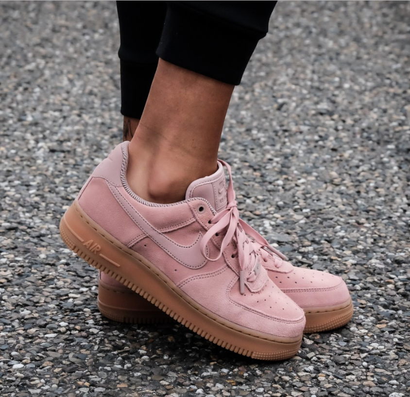 Кроссовки Nike Air Force 1 Particle Pink