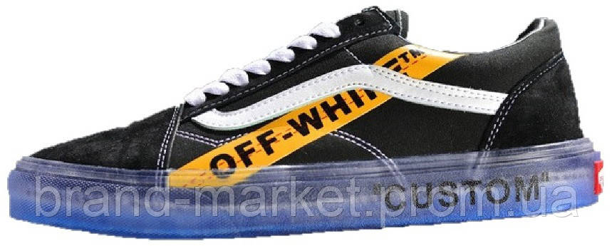 fd6ec3b8d182f0 Кеды OFF WHITE x Vans Old Skool Willy Black   Yellow