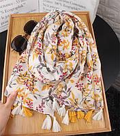 Осенние листья  шарф, палантин, платок