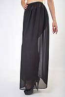 Женская шифоновая юбка в пол