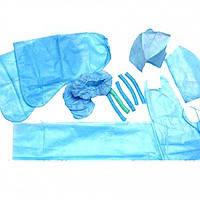 Комплект акушерский стерильный №19 (8 предметов)