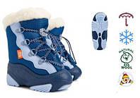 Сноубутсы  Demar SNOW MAR синие р 26/27 17 см, фото 1