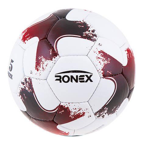 Мяч футбольный Grippy Ronex 2018-OMB, красный, фото 2