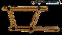Шаблон - линейка VOREL для переноса измерений