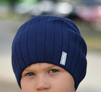 Модная вязаная шапка для подростка, фото 1