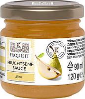 Джем к сыру Exquisit Fruchtsenf Sauce Birne из груши, 120 грамм