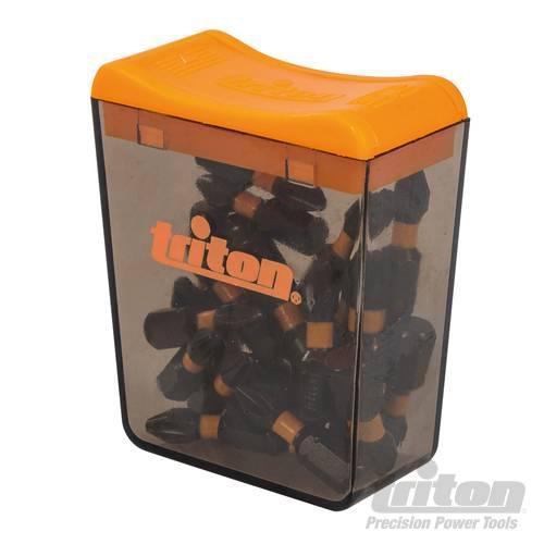 """Набір біт ударних PH2, L 25мм, 1/4""""(6,35мм) (25шт), Premium S2, Triton"""