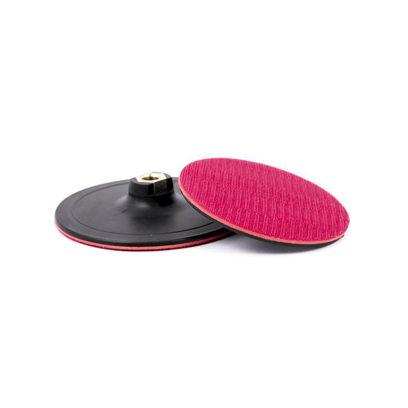 Платформа-диск з липучкою ф 125мм х М14, тонка (25/100)