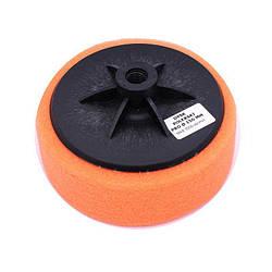 Диск полірувальний, губка (поролон) помаранчева, ф 150мм х М14 (20)