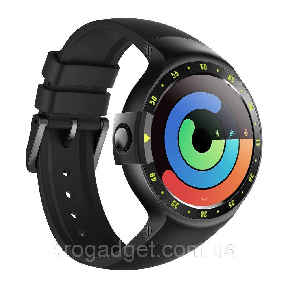 "Ticwatch S Sport Smartwatch Knight 1.4 "" OLED Display, Android Wear 2.0, iOS и Android, Google Assistant"