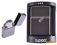 Зажигалка бензиновая Zippo №4224. Фирменная, качественная, металлическая зажигалка.Стильный подарок для мужчин