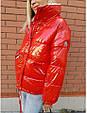 Курткаженская, наполнитель-холофайбер, цвет-фиолетовый, красный, чёрный, фото 2