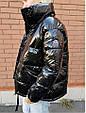 Курткаженская, наполнитель-холофайбер, цвет-фиолетовый, красный, чёрный, фото 9