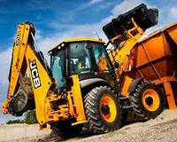Аренда услуги экскаватора jcb, погрузка мусора, планировка грунта, копка траншеи,