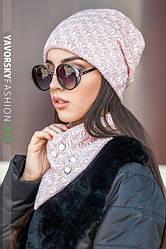 Женские головные уборы (шапки,шарфы,комплекты)