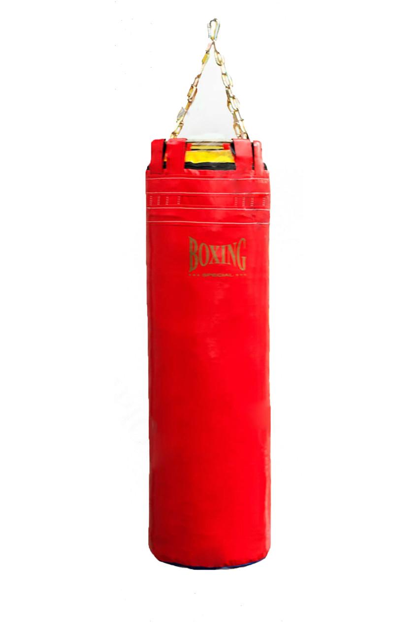 """Боксерский мешок  Boxing Special """"Elit""""  160 х 36 см, Кожа"""