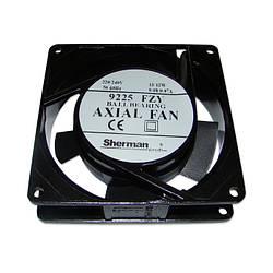 Вентилятор 92x92x25, AC 230V 50Hz, 9225FZY, 13W, 42м³/г, 2300об/хв, Axial Fan