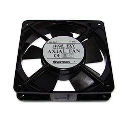 Вентилятор 120x120x25, AC 230V 50Hz, 12025FZY, 16W, 96м³/г, 2400об/хв, Axial Fan