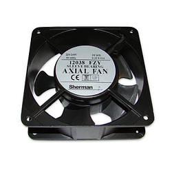 Вентилятор 120x120x38, AC 230V 50Hz, 12038FZY, 138м³/г, 2700об/хв, Axial Fan